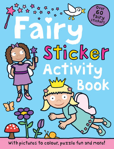 Fairy: Preschool Sticker Activity