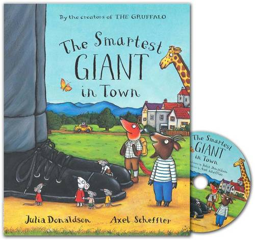 The Smartest Giant in Town Book and CD Pack