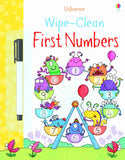 Wipe-clean First Numbers