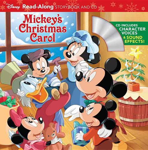 Mickey's Christmas Carol: Read-Along Storybook
