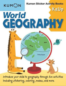 World Geography K & Up: Sticker Activity Book