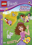 LEGO Friends Olivia's Rainbow Activity Book with Mini-set