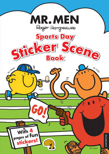 Mr. Men: Sports Day Sticker Scene Book