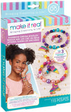 Make It Real Rainbow Pearl Bracelets, Multi-Colour, 90003
