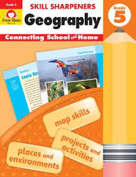 Skill Sharpeners Geography, Grade 5
