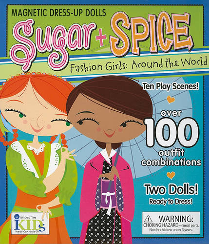 Sugar + Spice Fashion Girls: Around the World