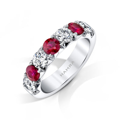 Diamond & Ruby Band