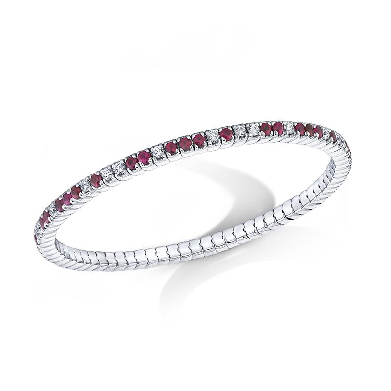 Ruby & Diamond Bracelet