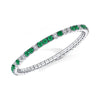 Emerald & Diamond Bracelet