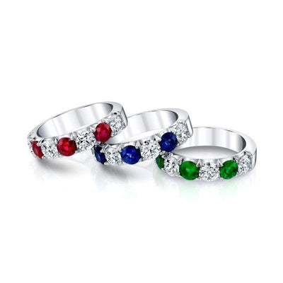 Diamond & Emerald Band