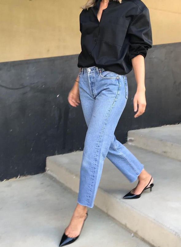 2020 Fashion Jeans For Women Formal Jeans Pant