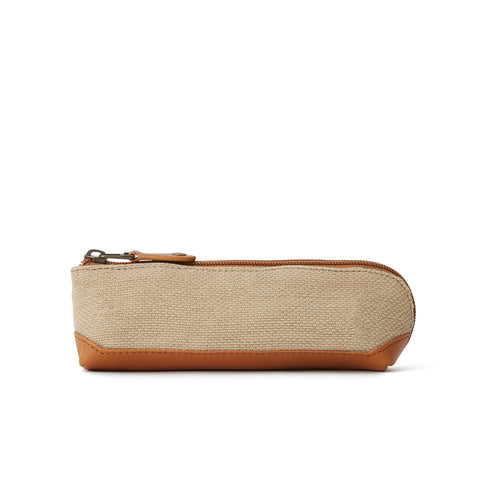 New Washed Jute Pen Case (4398690533474)