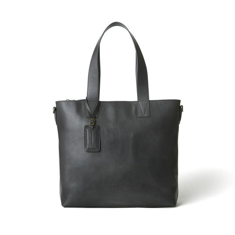 Antique Leather Tote (4398683848802)