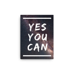 Yes You Can Canvas
