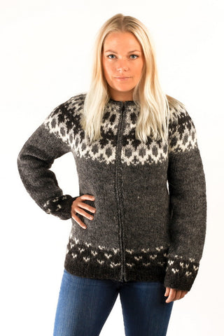 Skipper Cardigan Grey