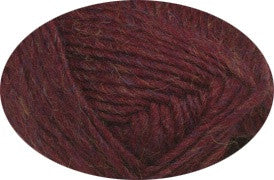 Alafoss Lopi 9962 - ruby red heather