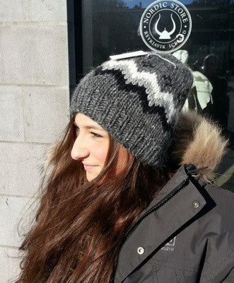 Traditional Wool Hat - Grey