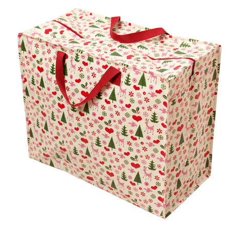 50's Christmas Supa Big Storage Bag