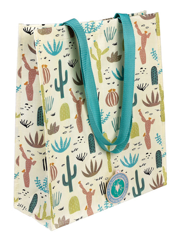 Desert Cactus Handy Shopping Bag