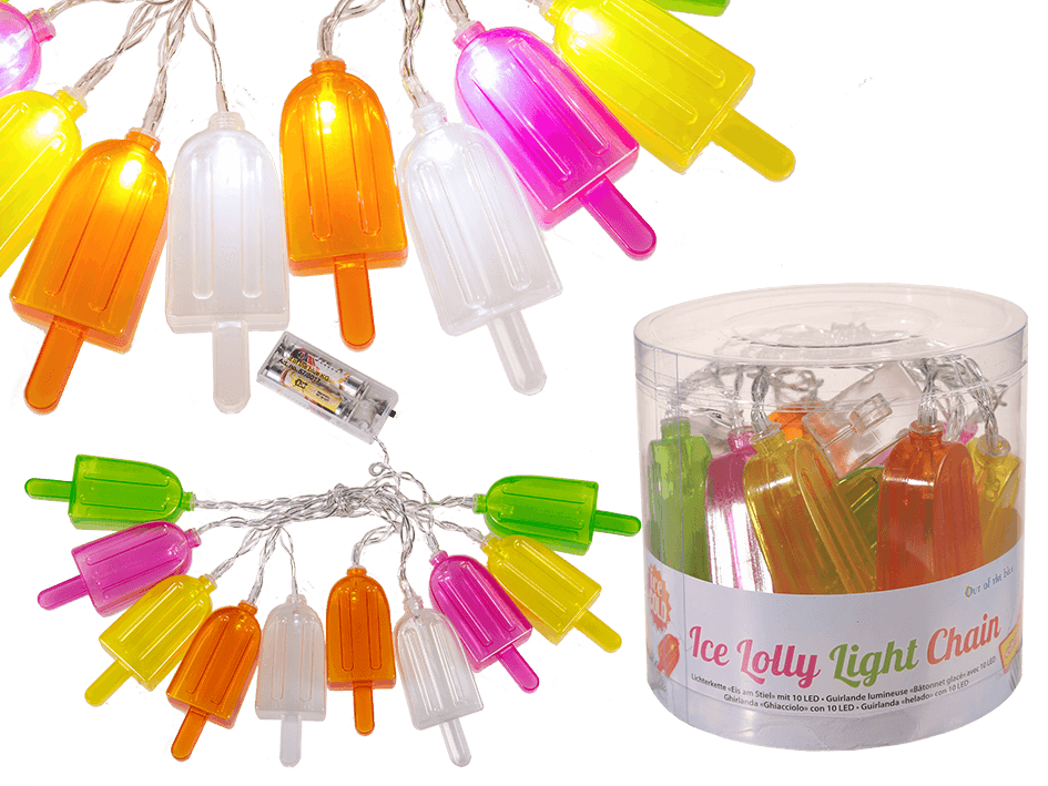 String of Ice Lolly Lights