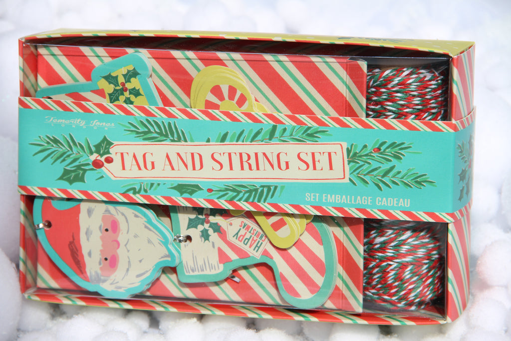 Christmas Tag and Twine Set