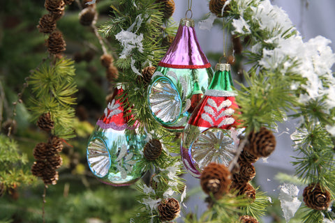 Glass Decorations.