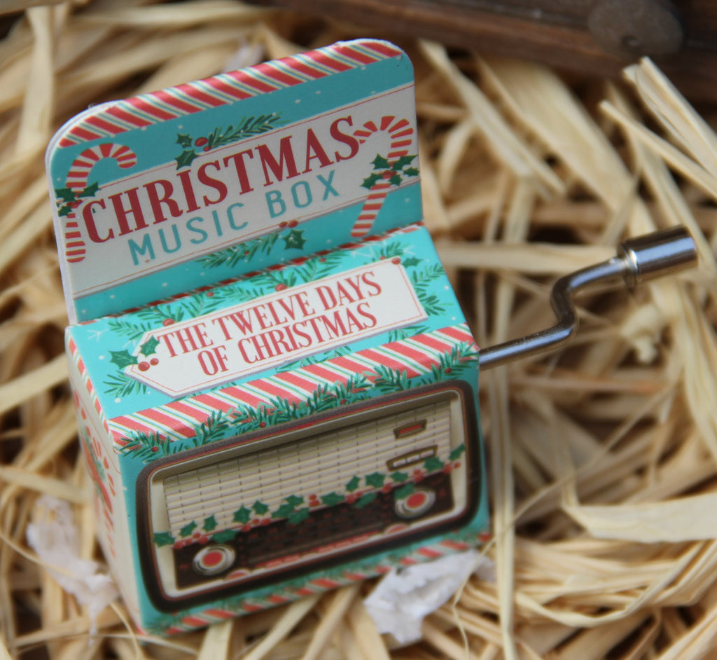 Mini Christmas Music box - 12 Days of Christmas