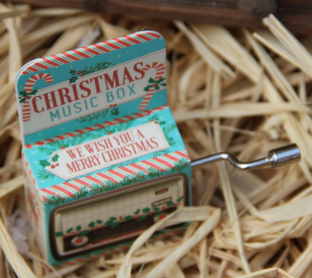 Mini Christmas Music box - We wish You a Merry Christmas!