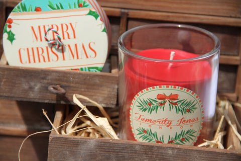 Christmas Scented Candle Jar