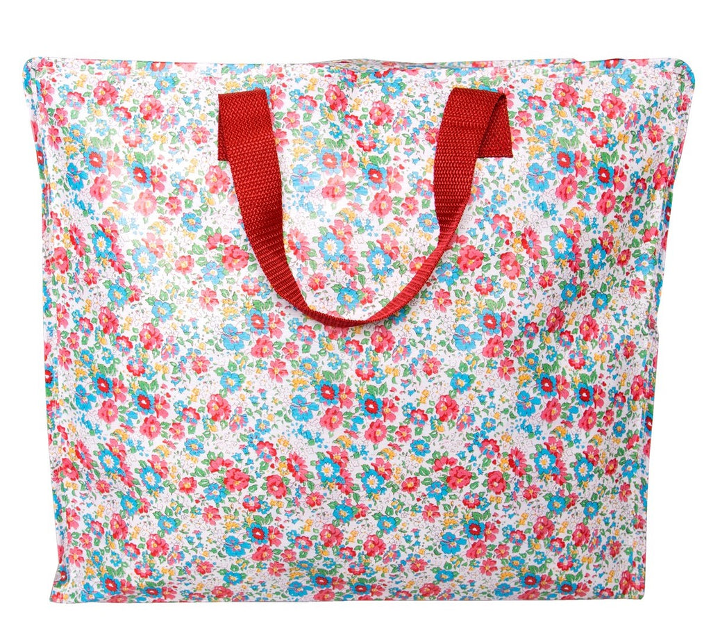 Bright Flower Medium Storage Bag