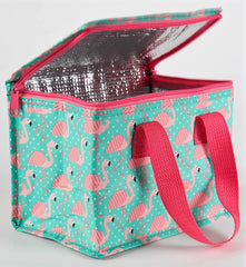 Pink Flamingo Lunch Bag