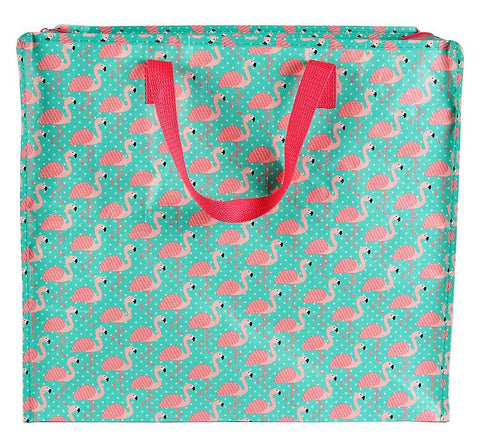 Pink Flamingo Medium Storage Bag