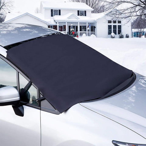Multipurpose of premium Windshield Cover,The best tool for sun protection and snow removal