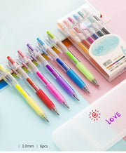 😘Express Love!!! - 3D DIY Painting Jelly Pen Set(6 pcs)
