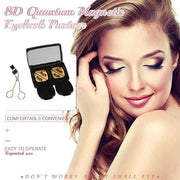 🔥8D Quantum Magnetic Eyelashes with Soft Magnet Technology🔥