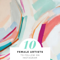 Top 10 Female Artists to Follow on Instagram
