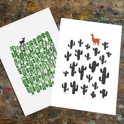 Buy 1 get one HALF PRICE Print Bundle (unframed)