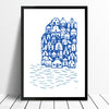 Santorini Giclée Print - framing available