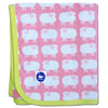 Sheep Baby Blanket Pink CLEARANCE