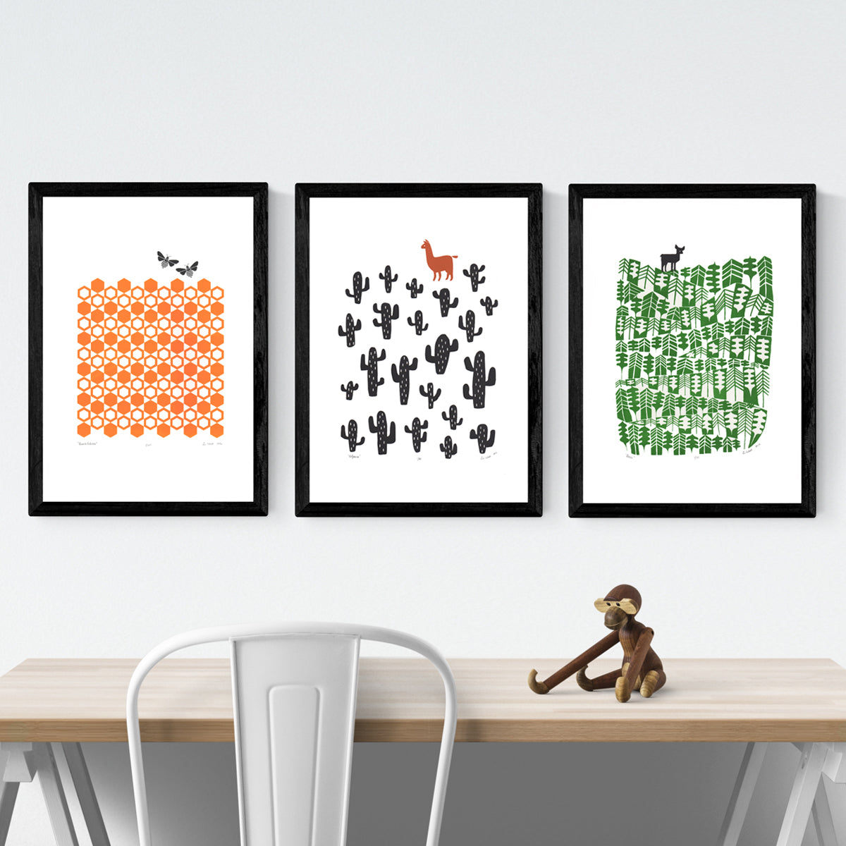 Buy 2 get 1 FREE Print Bundle (FRAMED) – Lu West