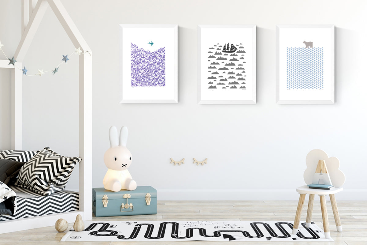 NEW Prints by Lu West