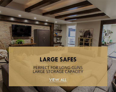 LARGE SAFES-PERFECT FOR LONG GUNS, LARGE STORAGE CAPACITY