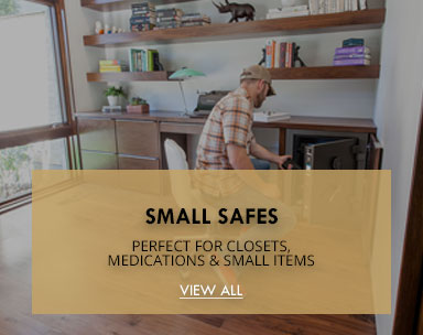 SMALL SAFES-PERFECT FOR CLOSETS, MEDICATIONS & SMALL ITEMS