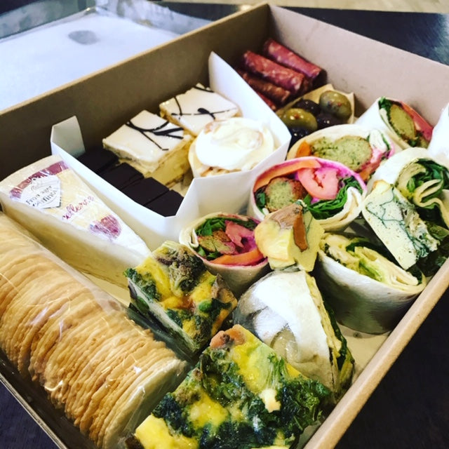Family Lunch Grazing Box (for 4) | Vaughans Cafe Deli & Online Store | Inverloch