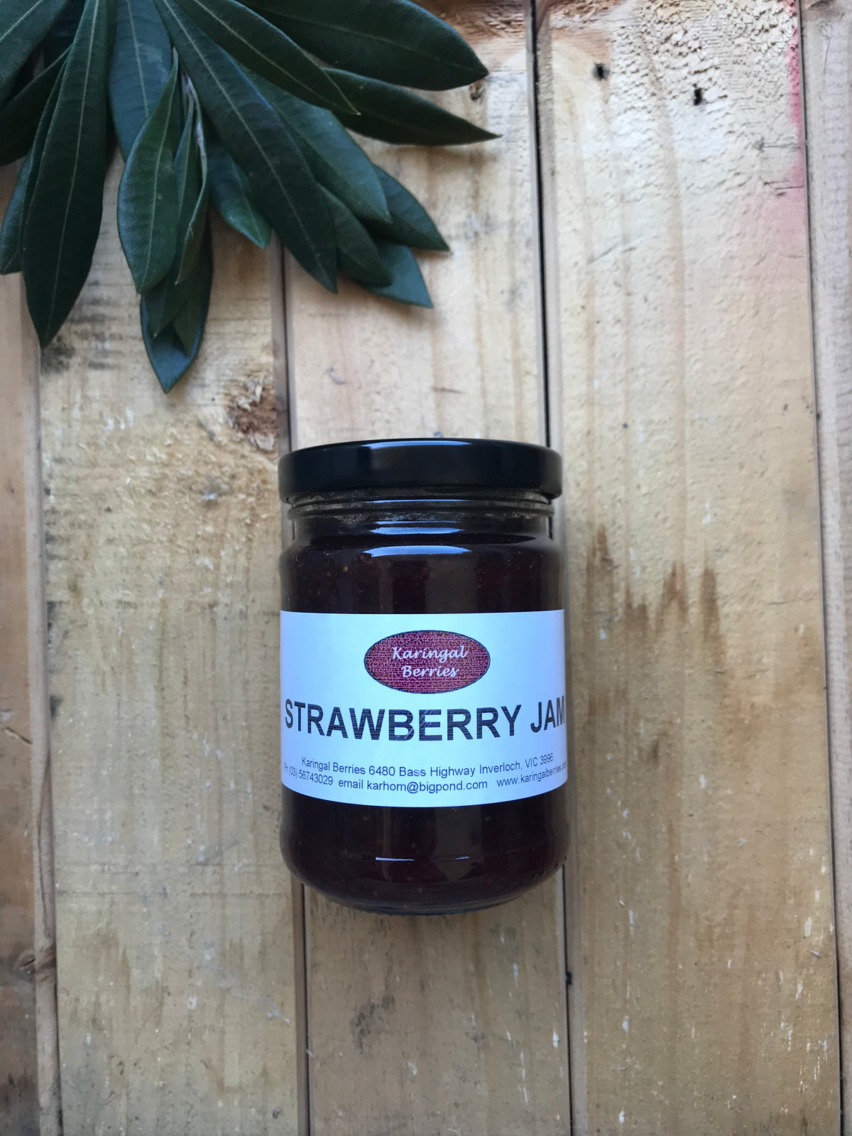 Strawberry Jam 290g | Vaughans Cafe Deli & Online Store | Inverloch
