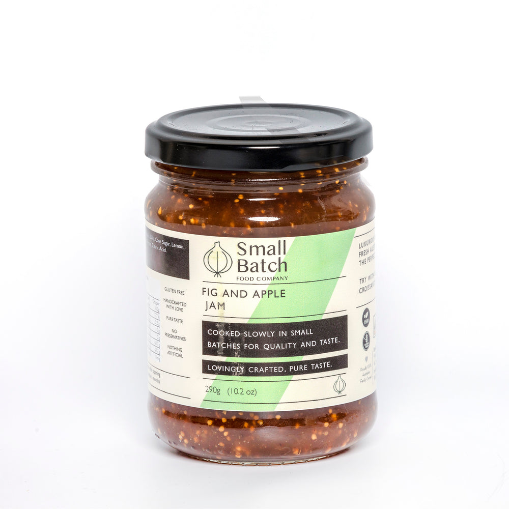 Fig & Apple Jam by Small Batch 290g