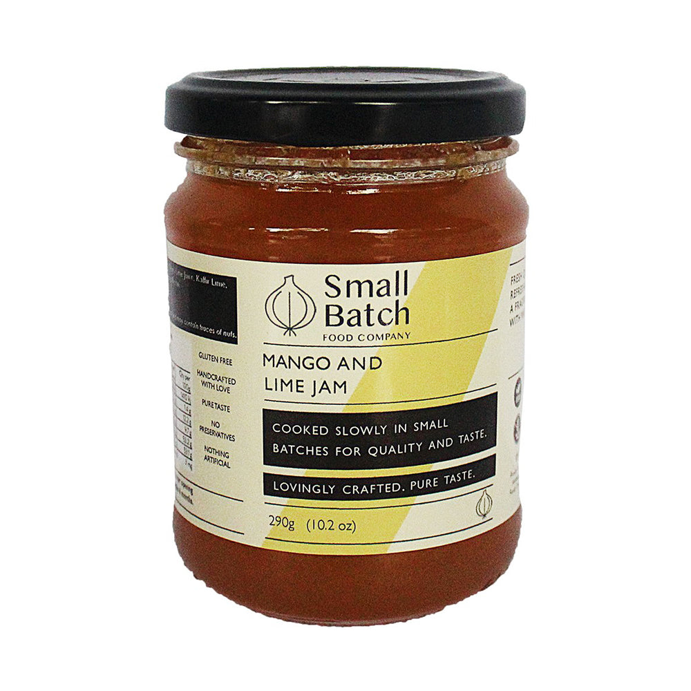 Mango & Lime Jam by Small Batch 290g