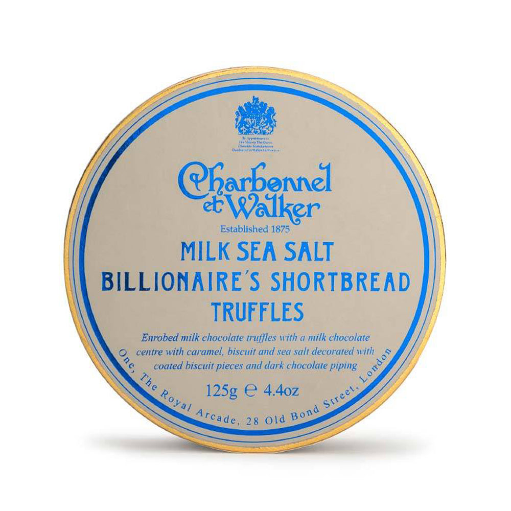 Milk Sea Salt Billionaire's Shortbread Truffles by Charbonnel et Walker 125g