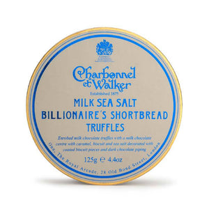 Load image into Gallery viewer, Milk Sea Salt Billionaire's Shortbread Truffles by Charbonnel et Walker 125g