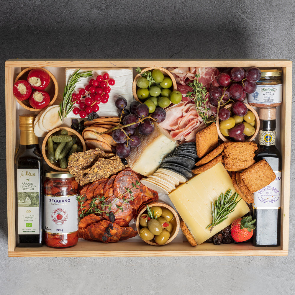 The Cheese & Charcuterie Grande Platter